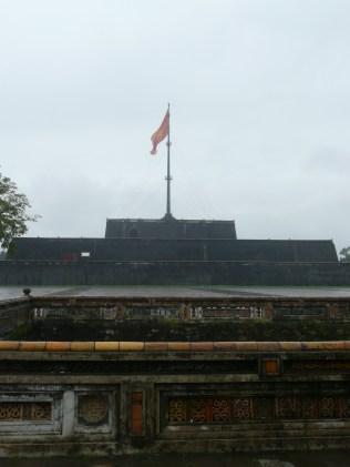 Flagpole outside the Citadel