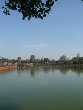 Angkor Wat from across the bridge