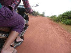 Motorbiking duo