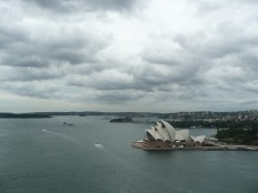 View of the Opera House from above