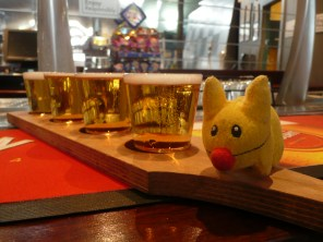 Calvin loves to beer taste