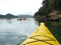 Kayaking in Davies Bay