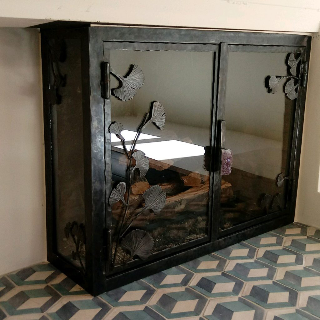 Kiva Fireplace Screens