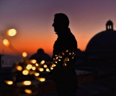 Sunrise Time in Suleymaniye Mosque