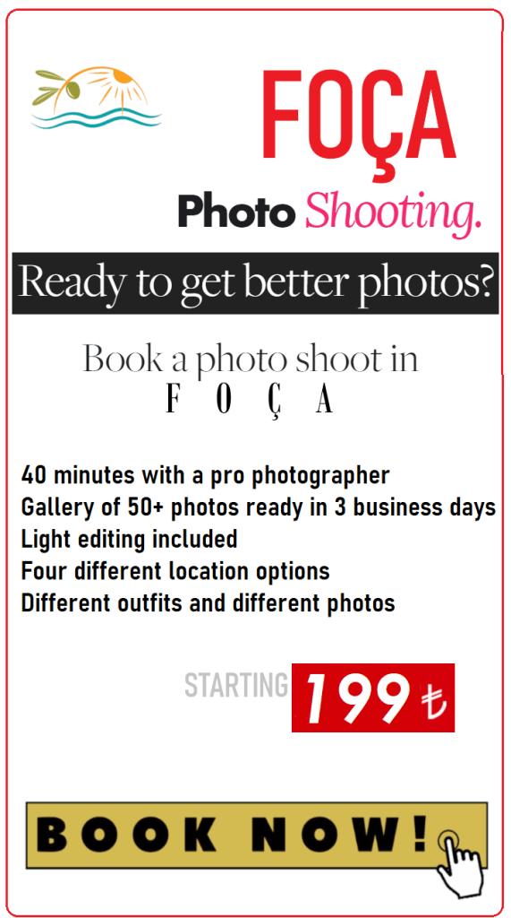 Foca Photographer - Photo Shooting in Foça