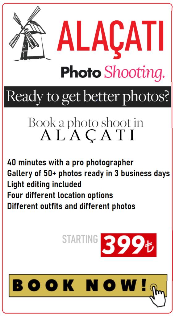 Cesme Alacati Photographer - Photo Shooting in Alaçatı and Çeşme