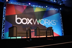 The drchrono team presenting at BoxWorks 2014