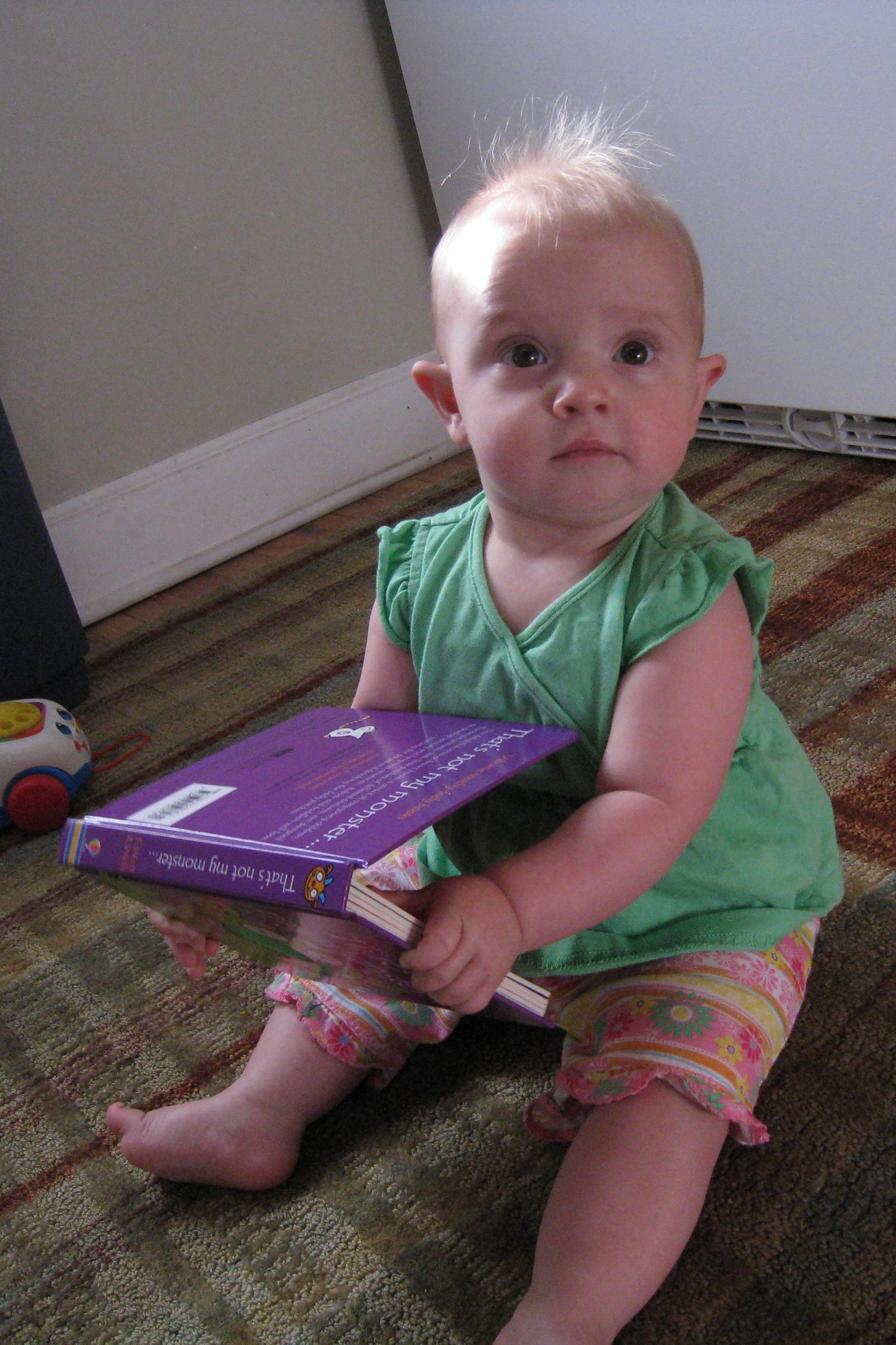 4x6 kivrin reading monster book