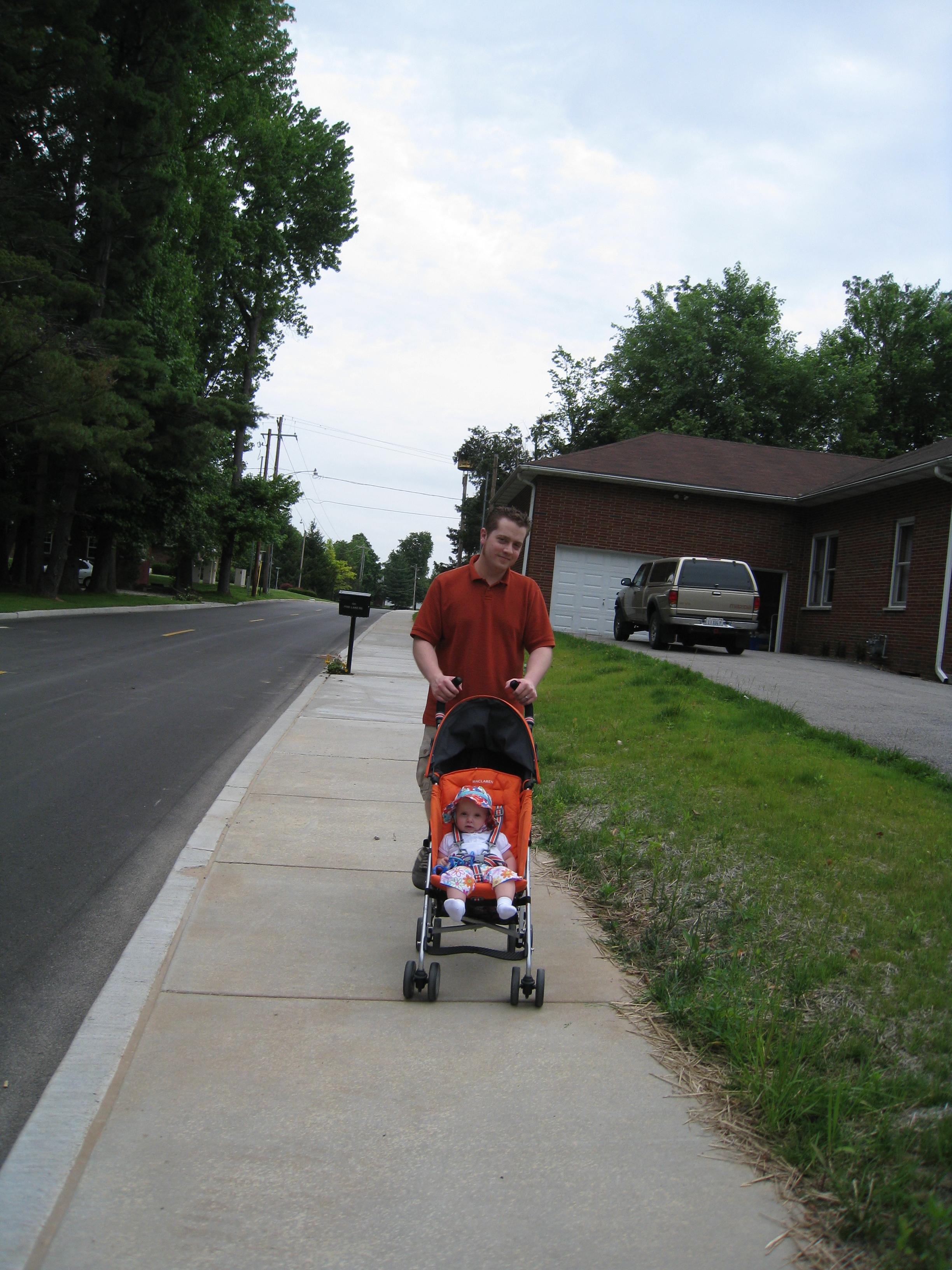 the new pine lake road sidewalk