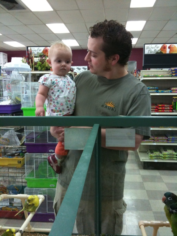 at the pet store