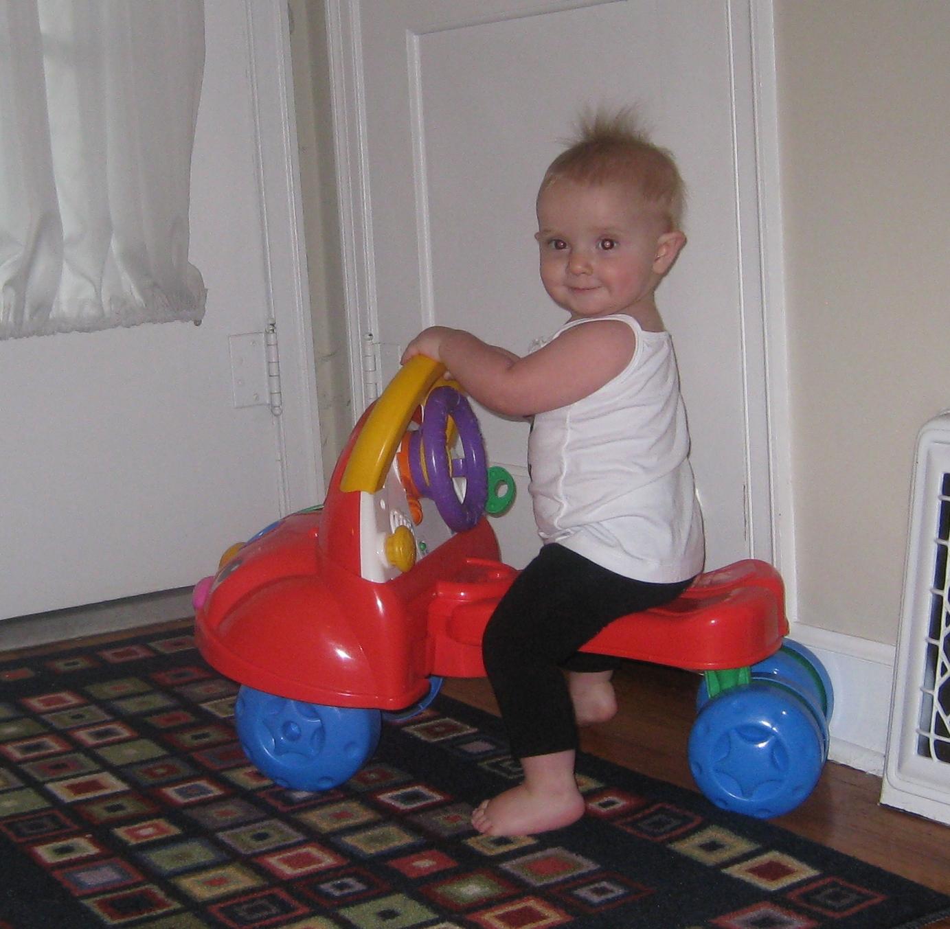 kivrin on her bike