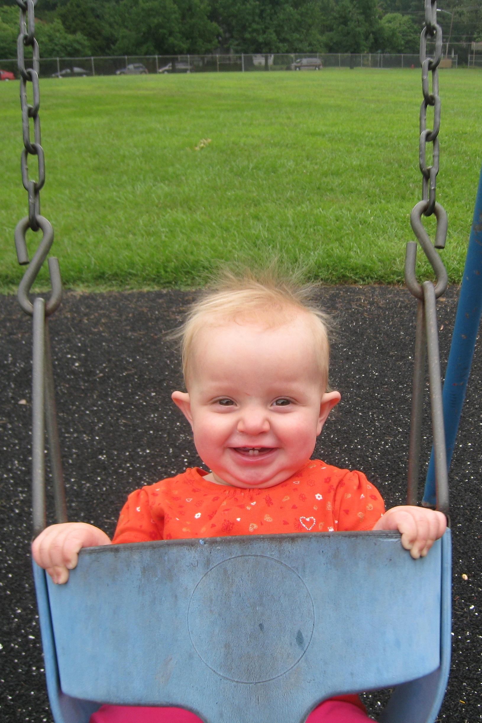 kivrin totally loves swinging