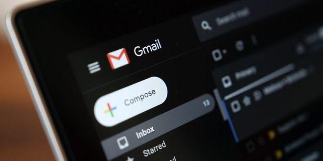Dark mode dans Gmail