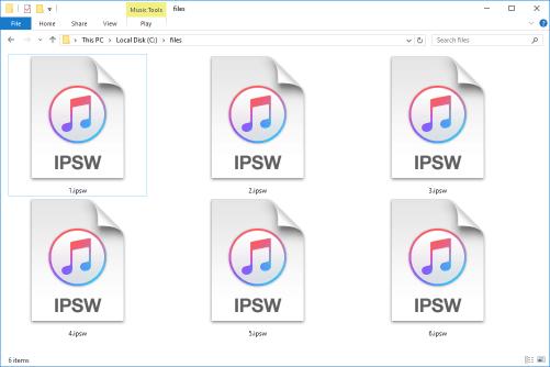télécharger IPSW