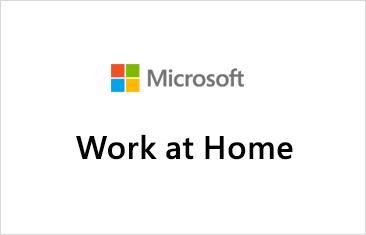 Microsoft Work at Home