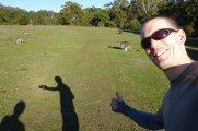 Selfie s Klokanem