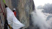 Příprava na bouřku (El Cap Tower)