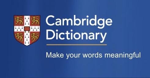 文法が無料で学べる!オンライン英英辞典『Cambridge Dictionary』