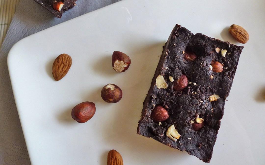 Brownie végétalien sans cuisson