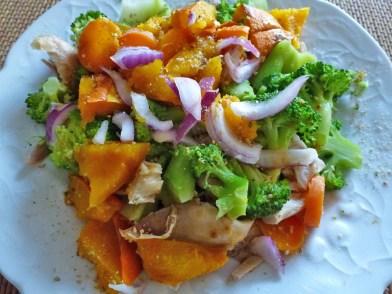 salade potimarron
