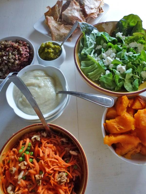 Ma journée bio végétarienne, 01/2014 (interêt… et différents riz…)