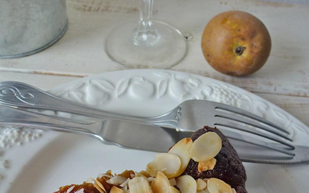 Gâteau d'amandes aux poires ( sans céréales )