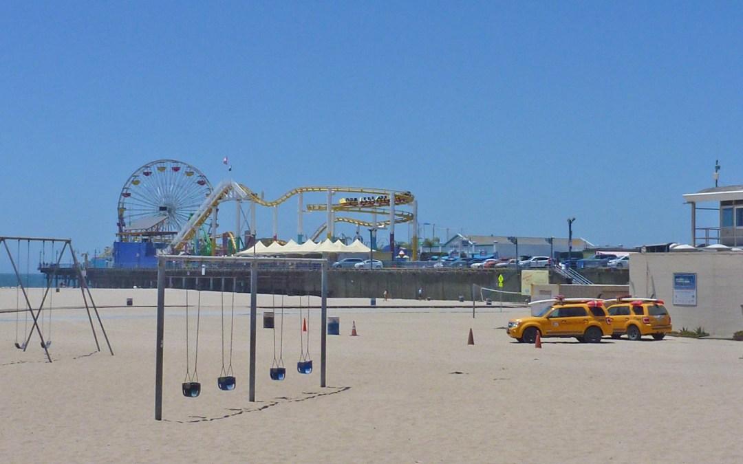 Californie, du côté de Santa Monica et Venice beach, plus un petit tour au walk of fame