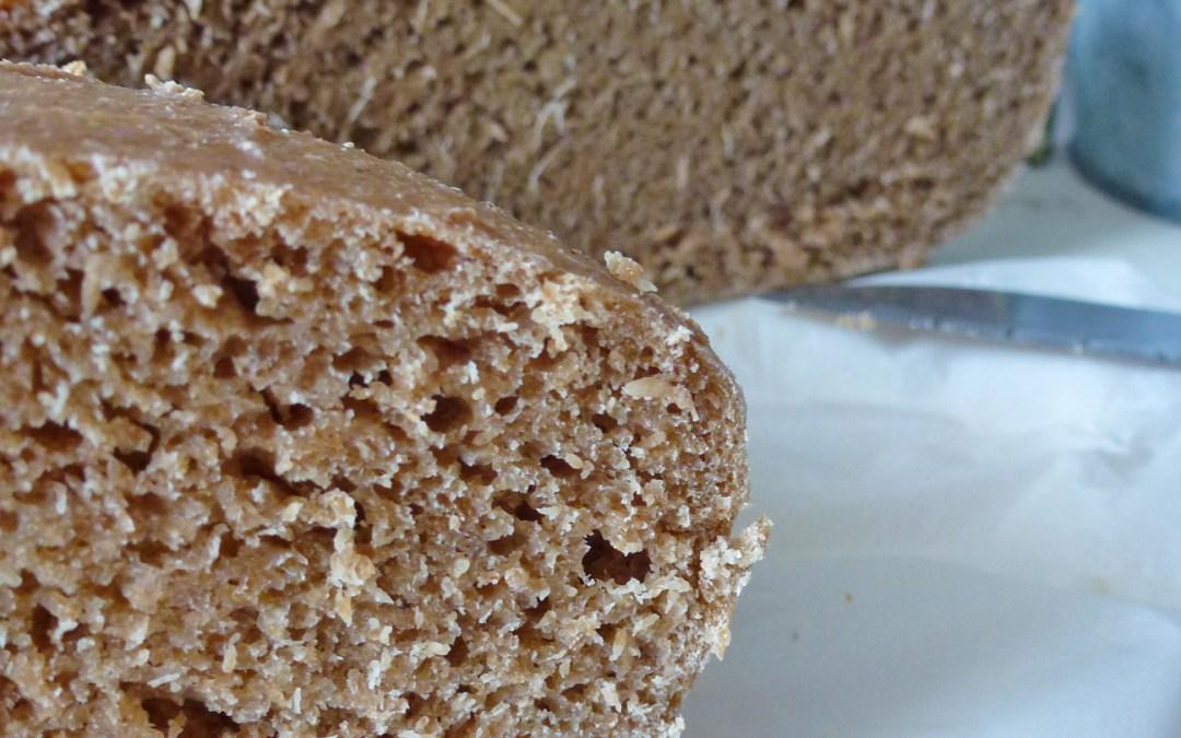 Pain maison sans levure au levain naturel  ( mes astuces pour  un pain plus sain et  rapide à faire)