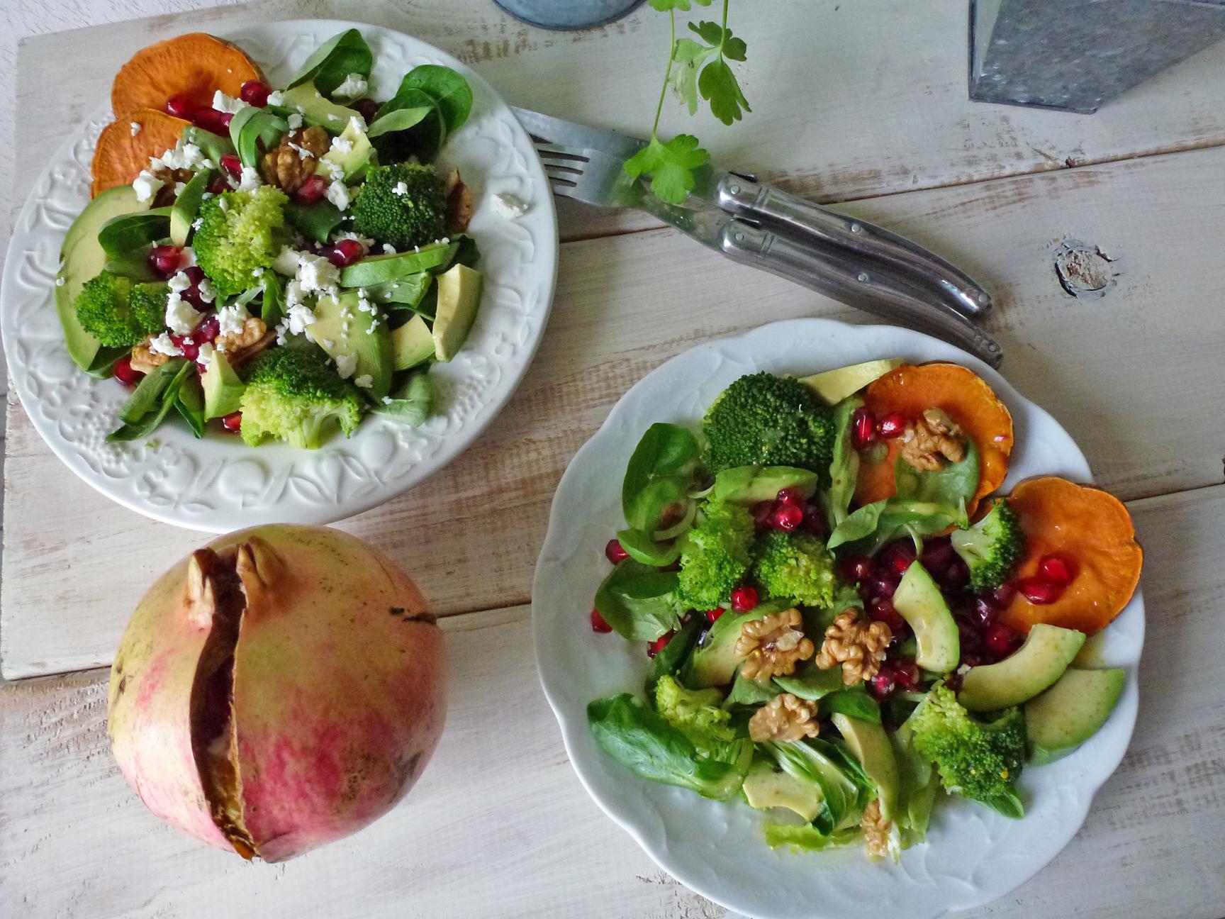salade entrée hiver