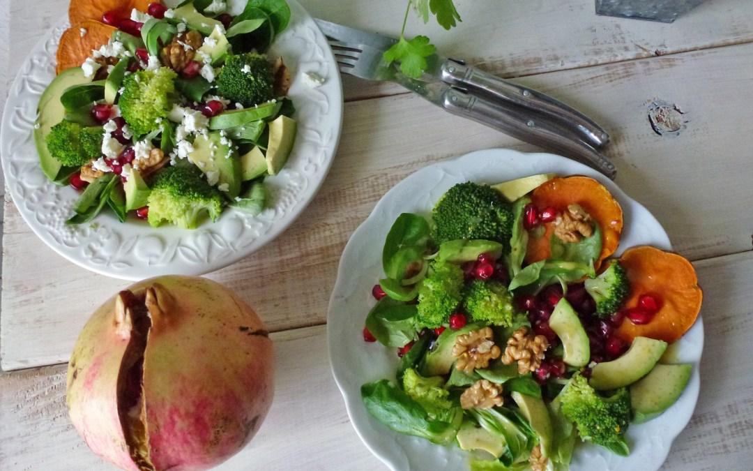 Salade d'hiver toute simple pour une entrée saine