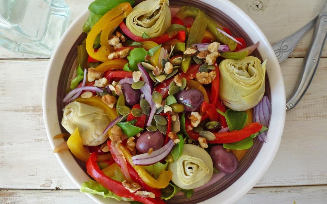 Salade Sicilienne aux coeurs d'artichauts