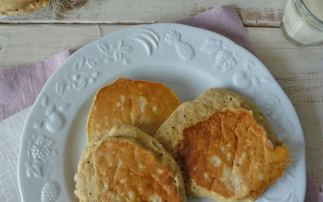 Pancakes pommes cannelle  ( sans gluten, sans lactose )