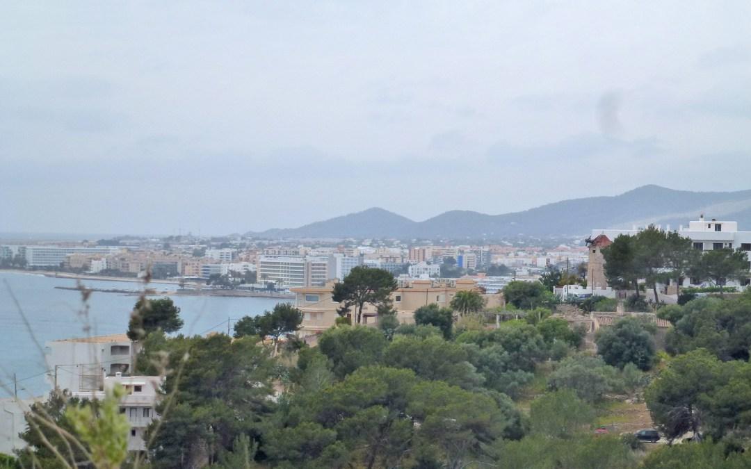 Ibiza côté ville, un petit tour à l'Est de lîle