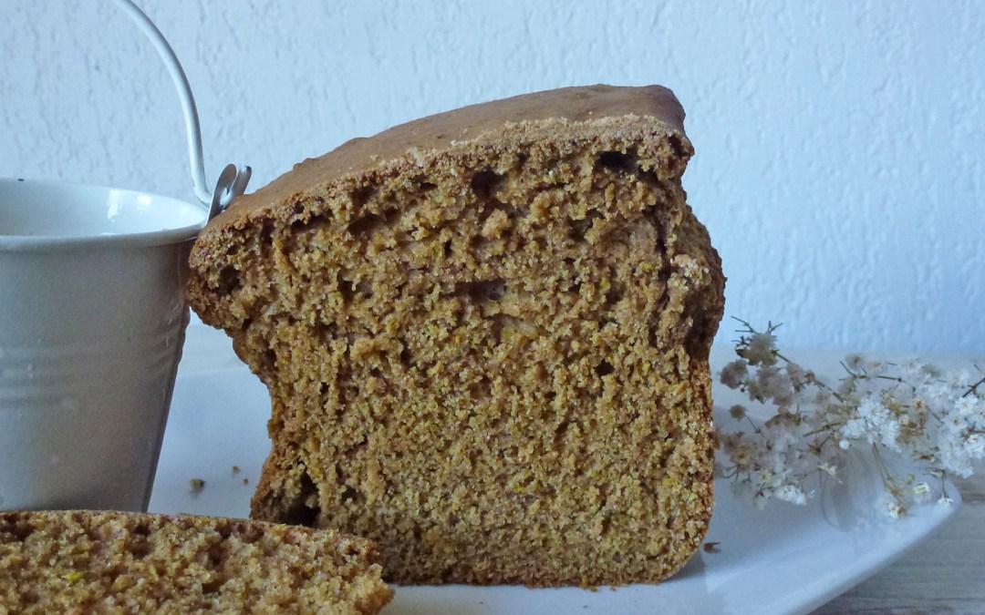 Gâteau moelleux à l'épeautre, citron, huile d'olive et sucre de coco ( Allégé, vegan)