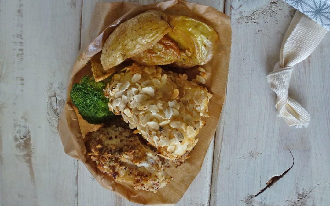 Healthy fish and chips  ( Version sans céréales, sans huile, sans lactose )