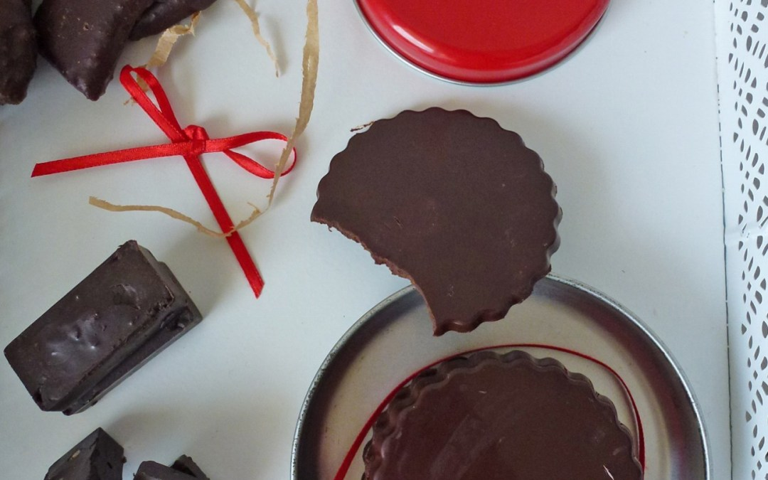 Chocolat maison au cacao cru