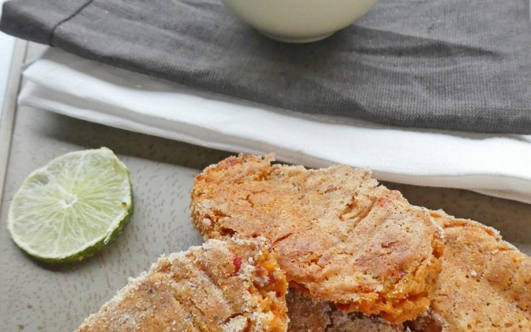 «Crousti-moelleux» de légumes, au riz, lentilles corail et  féta  ( Sans oeufs, sans gluten )