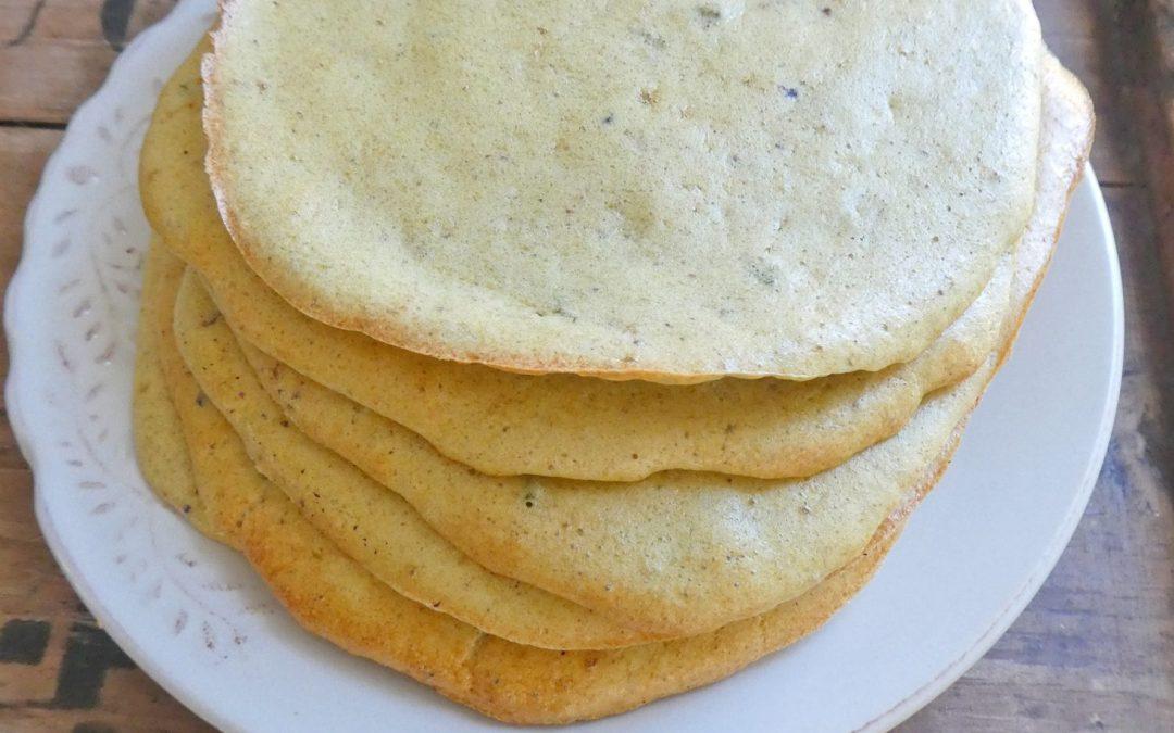 Flatbread, cloud bread, wrap…mais sans céréales et sans lactose.