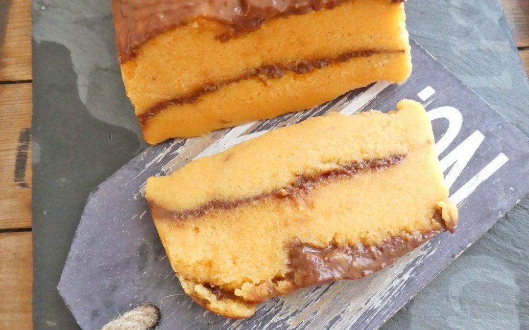Sorbet mangue, fraise, orange, recouvert d'une ganache chocolat… ( Sans sucre ajouté, sans cuisson, vegan )