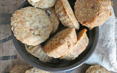 Biscuits moelleux aux noix  ( Vegan, sans gluten )