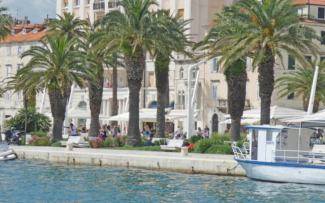 La Croatie ; de Trogir à Split, direction Podstrana. Plus un petit tour à MaKarska et au parc de Krka