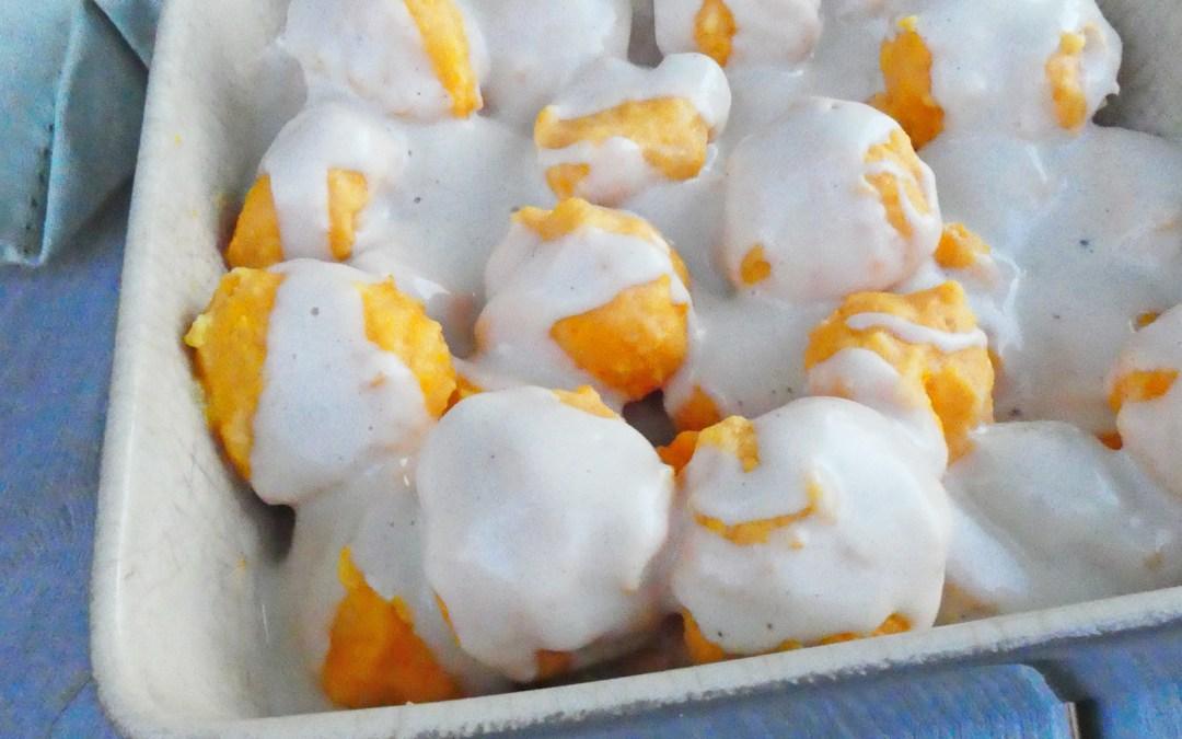 Quenelles de butternut à la brousse de brebis ( Sans gluten )
