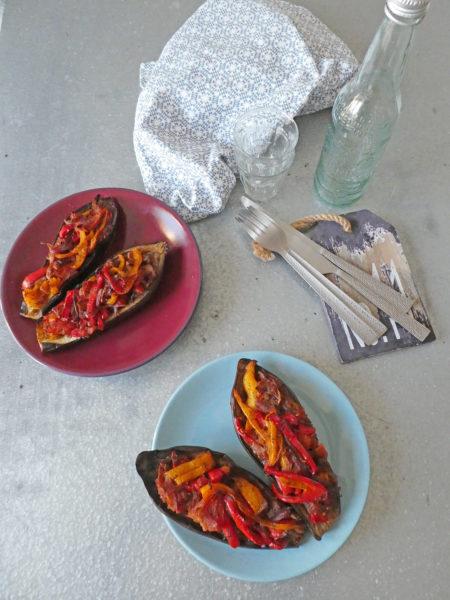 Aubergine à la turc ( 100% légumes, 100% léger )