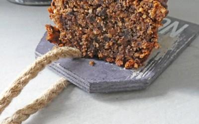 Gâteau au chocolat, noisettes et huile de noisette ( Sans gluten, vegan )