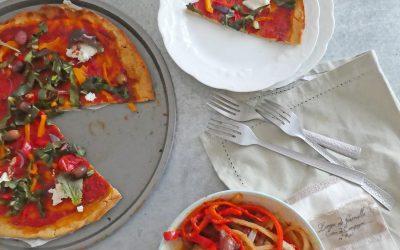 Spaghettis de blettes et pizza sans gluten ( idée repas autour de la blette )