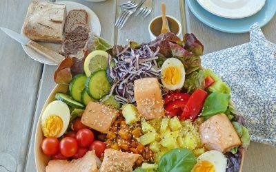 Salade repas d'été à  partager, juste une idée…