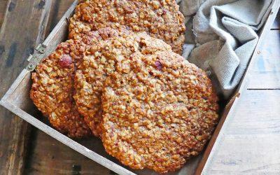 Maxi cookie pour petit déjeuner ( Vegan )