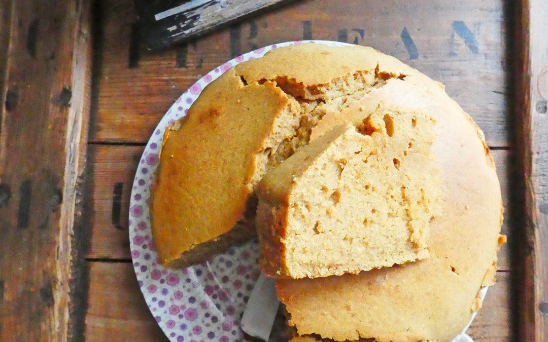 Gâteau au yaourt végétal et blé ancien