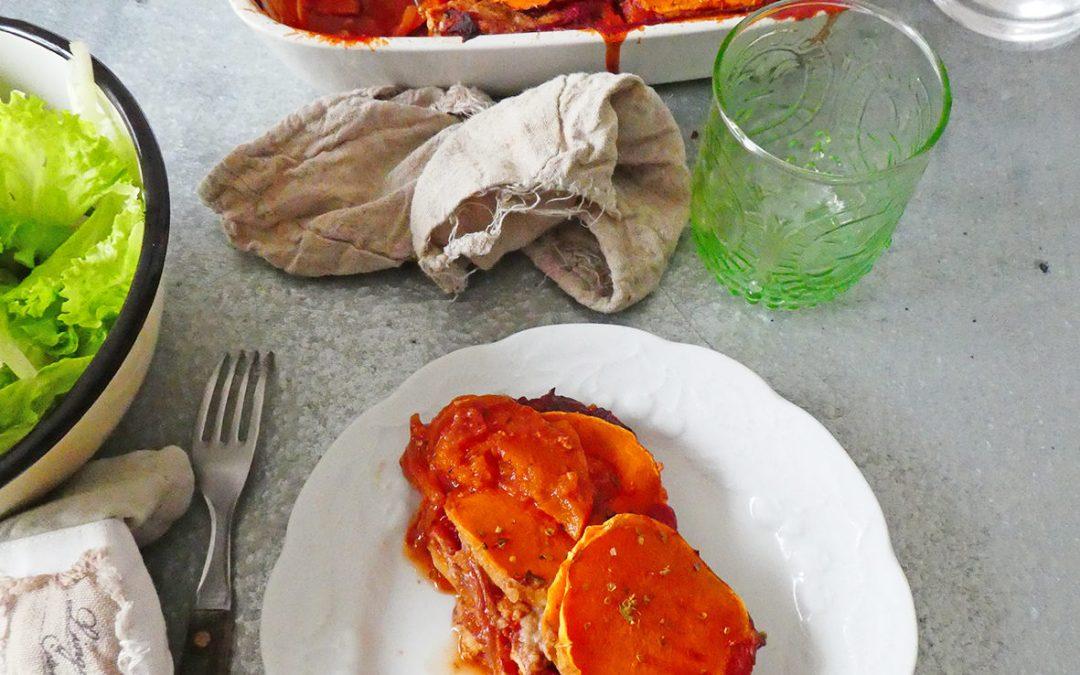 Lasagne de butternut ( Vegan ou pas, sans céréales )