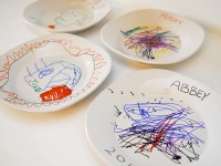 Decorated Ceramic Plates